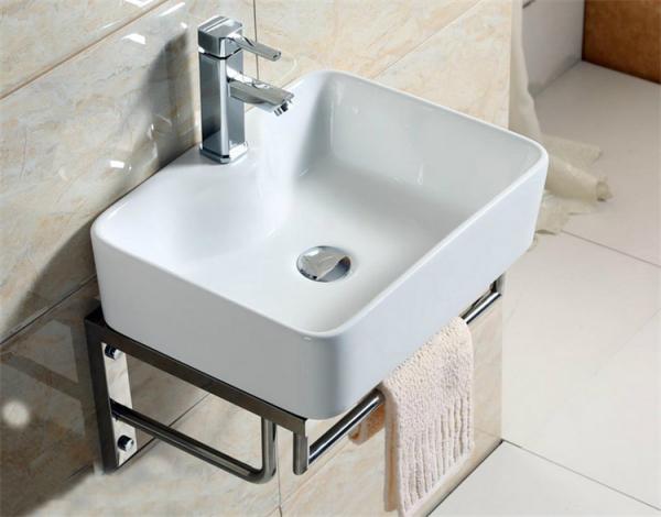 浴室台上盆