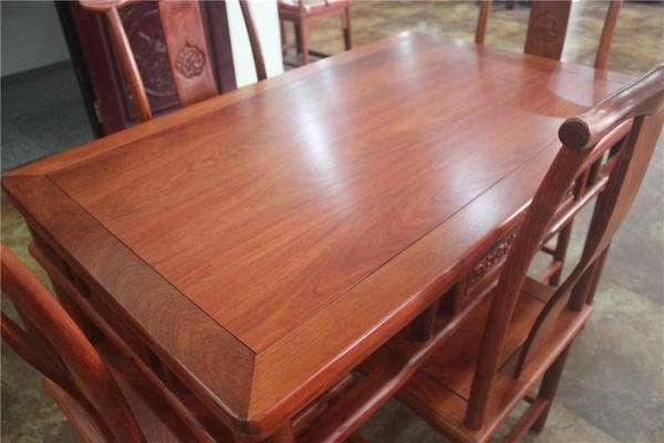 「红木家具」红木桌子优点+红木桌子选购技巧
