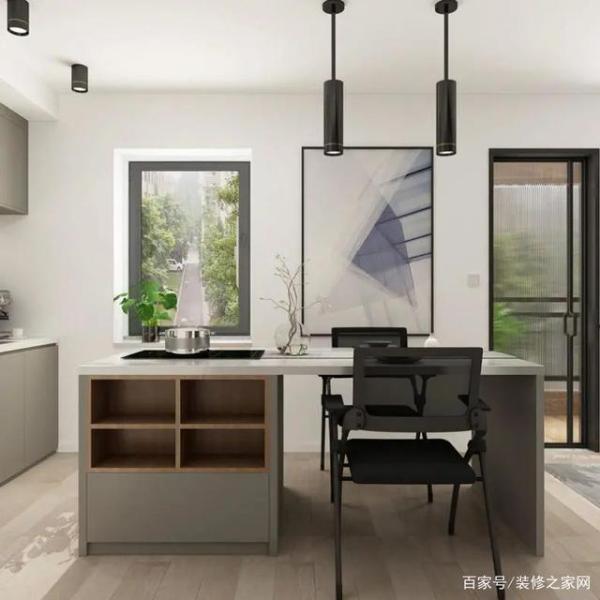 40㎡小户型设计,入门就是衣帽间,把地抬高造卧室,餐厅好高级