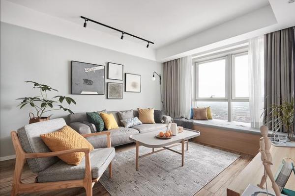 晒晒我家85平的新房,小户型的简约风装修,朋友都说好好看