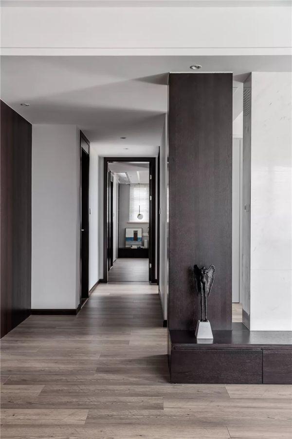 123㎡现代简约,不规则的客餐厅,采光明亮又宽敞