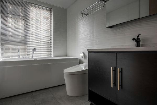 123㎡简约风新房,主打黑白灰色调,颜值高了不止一倍