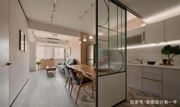 70㎡小户型,超大空间很明亮,客厅设计惊艳全场,又美又大气