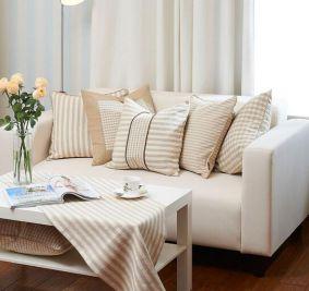沙发靠垫选择,沙发靠垫搭配知识