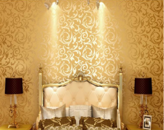 金箔壁纸有何特点?金箔壁纸价格是多少?