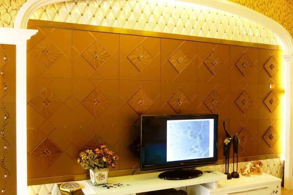 家装影视墙的材料 家装影视墙壁纸颜色搭配