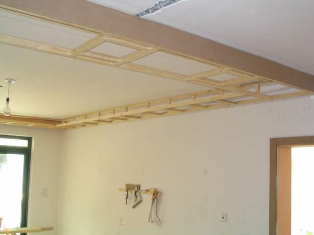 吊顶木龙骨施工工艺 吊顶木龙骨安装方法
