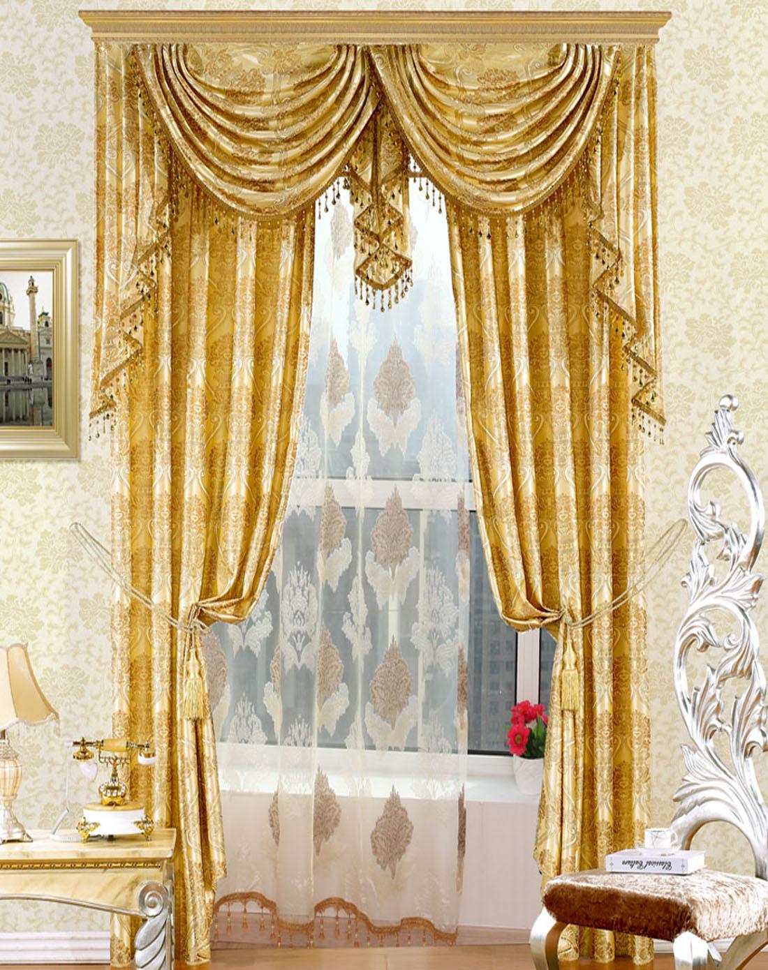 欧式窗帘有哪些特点?怎样的搭配窗帘颜色?