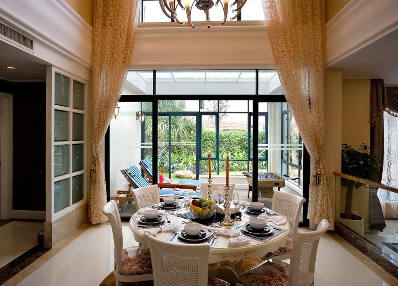 别墅窗帘价格是多少?别墅窗帘设计风格