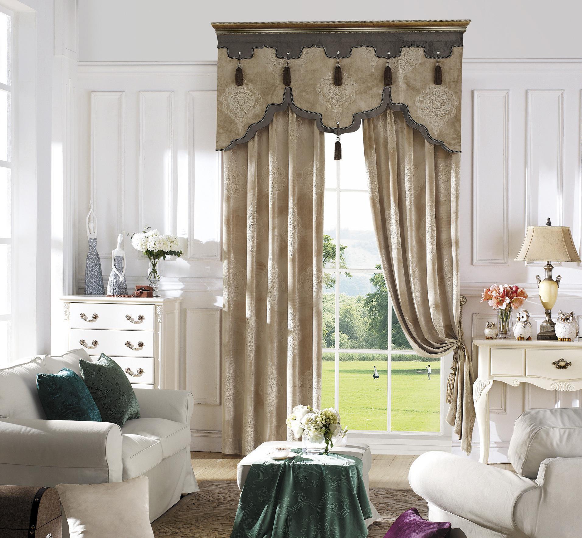 欧式窗帘有哪些特点?欧式窗帘的选购技巧