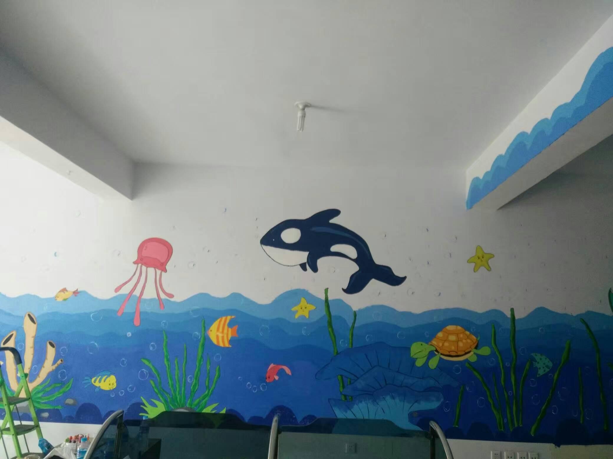 墙体手绘的技巧    墙体手绘的注意事项