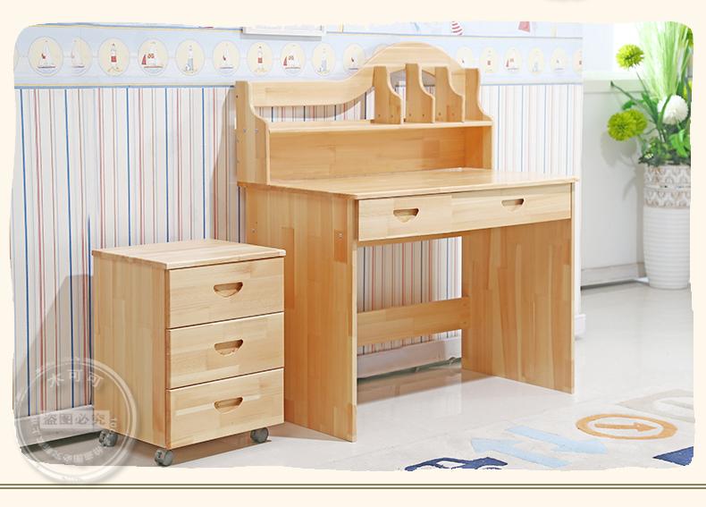 儿童学习桌实木品牌有哪些   儿童学习桌选购技巧