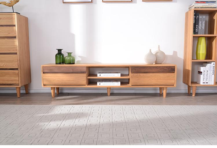 客厅实木电视柜好吗 实木电视柜如何挑选