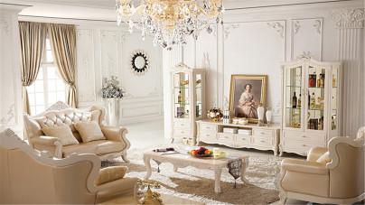 高雅精致的新古典主义风格装修,你值得拥有