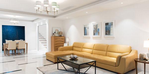 别墅客厅装饰设计有什么技巧?有哪些误区?
