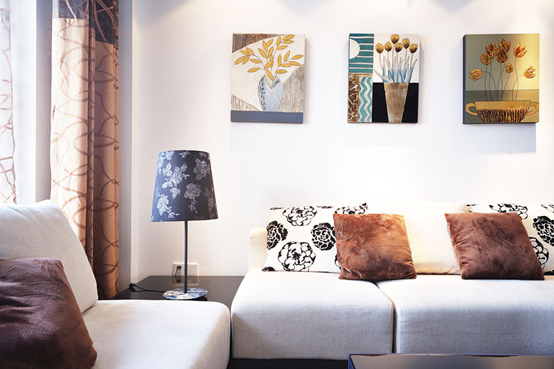 客厅装饰壁画种类 客厅装饰壁画风水禁忌