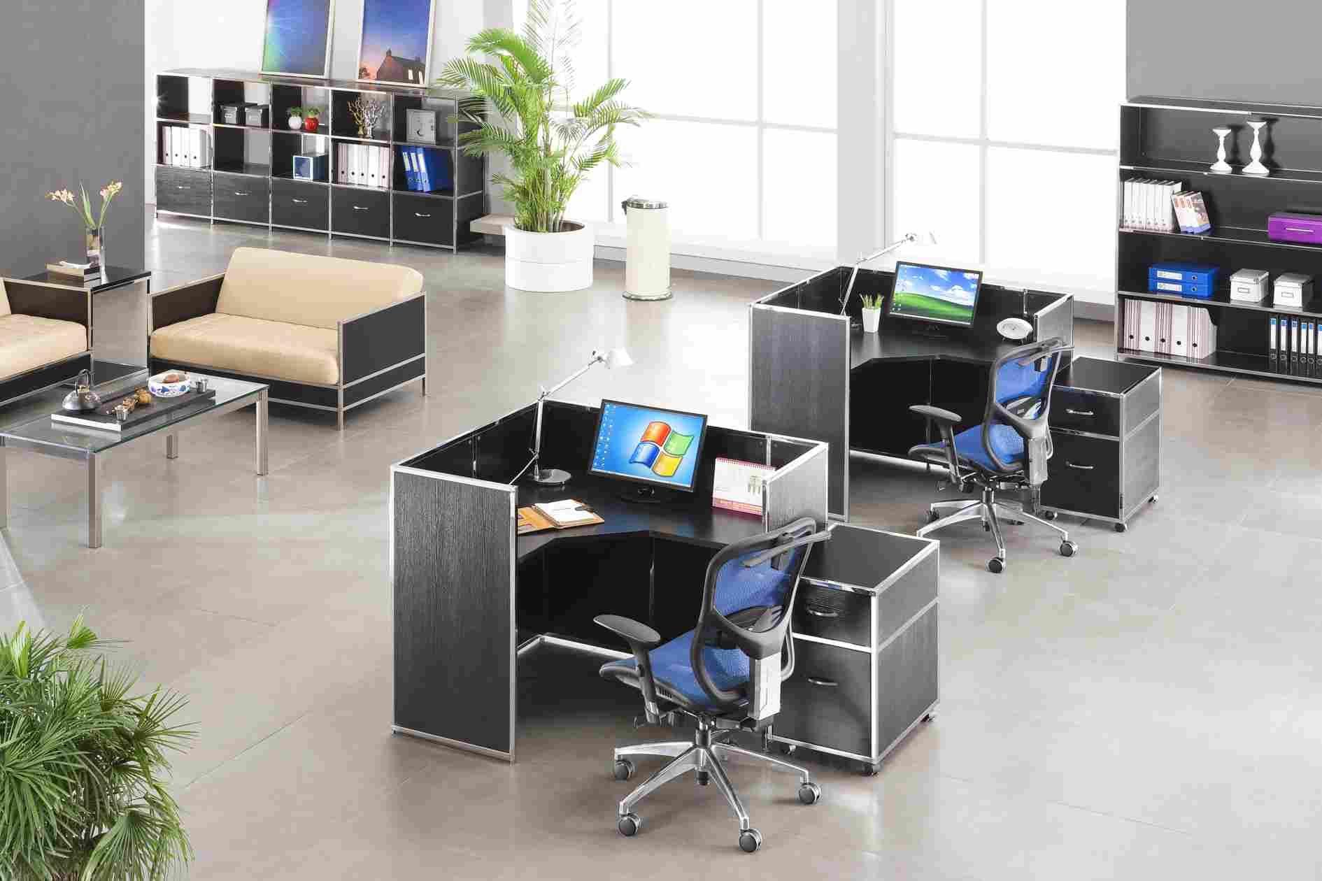 组合式办公桌的种类 组合式办公桌如何保养