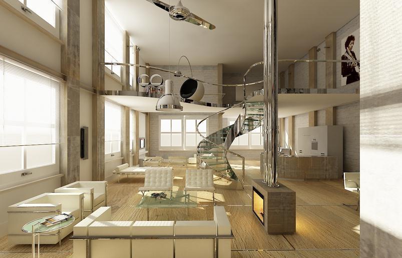 loft装修样板间技巧, loft装修样板房注意事项