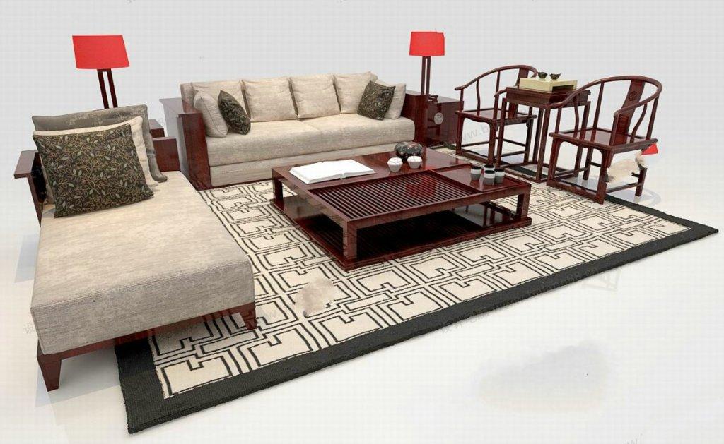 中式沙发尺寸是多少 沙发面料材质推荐