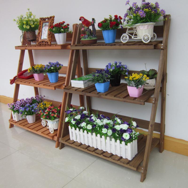 客厅木质花架特点 客厅木质花架选购技巧