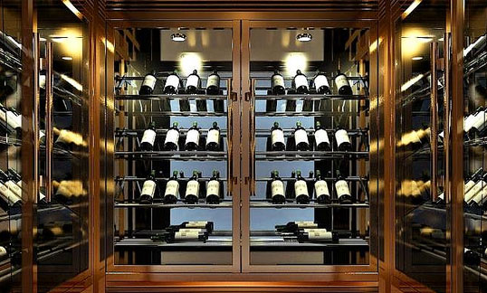 中式客厅酒柜如何搭配?怎样摆放?