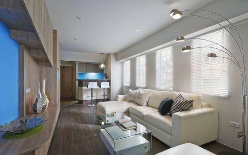 98平明亮简约宜家风三居室 用色彩点亮生活空间