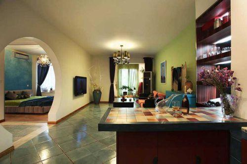 东南亚风情公寓装修 演绎浪漫色彩