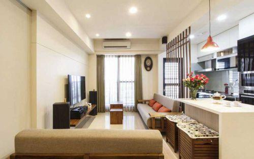 88平宜家日式 小户型两居室设计非常紧凑