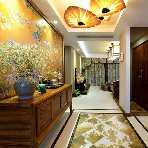 古典东南亚风情三居 很有文化气息的家