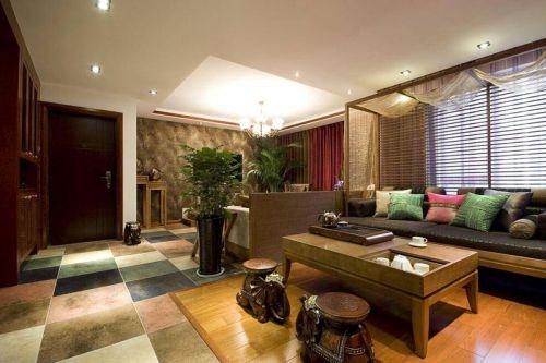 浪漫东南亚风情 低调的三居室装修