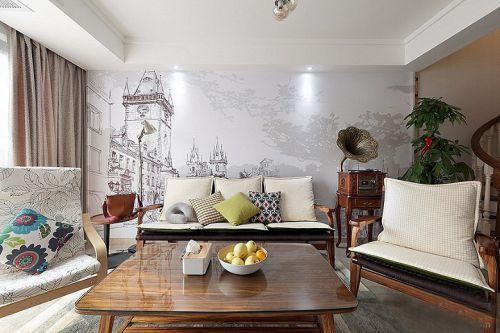 120平北欧风格装修复式美家 亮丽精致有品位