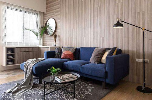 北欧风格复式楼装修效果图 木棉花的春天
