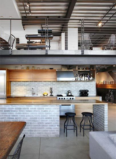 年轻人最爱工业风 这些loft公寓你喜欢吗