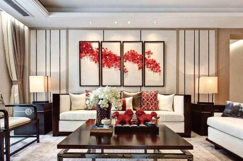豪华新中式大四居室  享受天伦之乐的空间