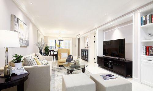 美式三居室  用最简单的色调营造温馨效果