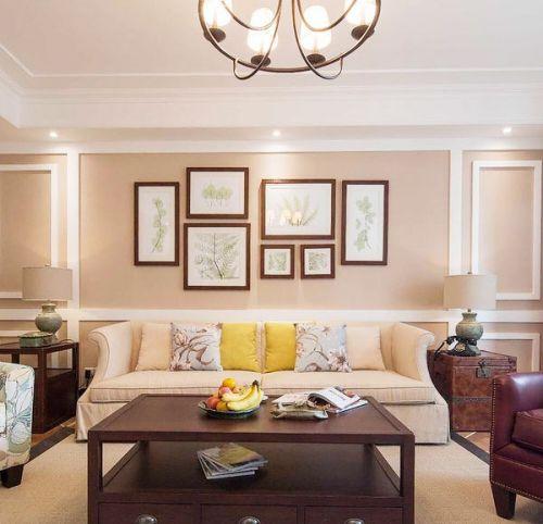 美式三居室  让你的家成为邻居们羡慕的对象