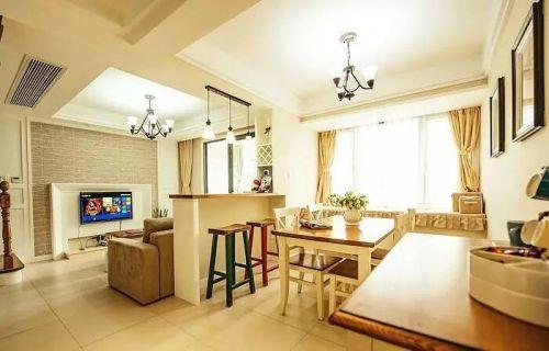 美式复式房装修  温馨的空间你也会喜欢