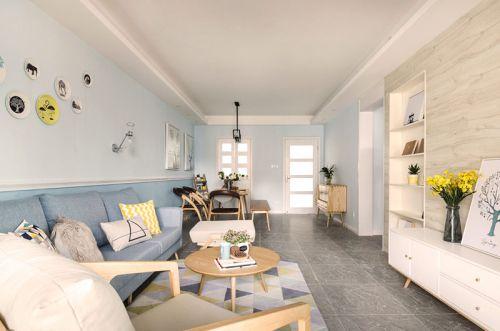 110平北欧风格三房两厅设计 不变的是温暖