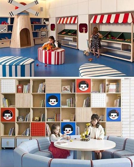 烂漫的童年  10个缤纷儿童活动室设计图