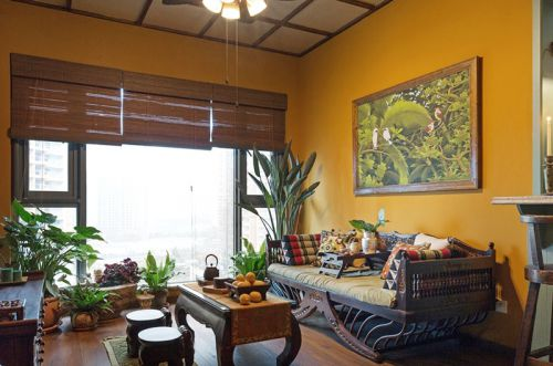 46平东南亚风格一室一厅装修 摒弃浮华