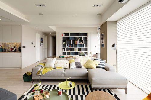 160平北欧风格四房装修效果图 清新色彩