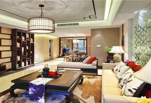 东南亚风格三居室装修  异域情调引人注目