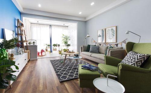 113平北欧风格三室两厅装修 寻觅绿野仙踪
