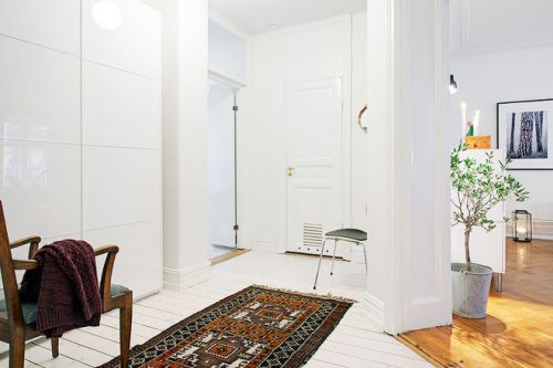 115平米纯洁白色家 北欧装修风格设计