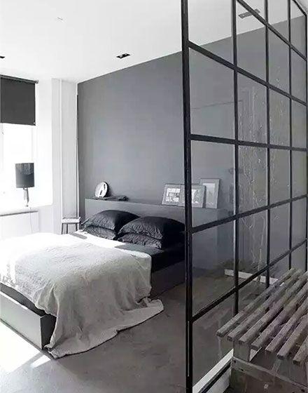材料装饰新时代 12个水泥墙造工业风卧室