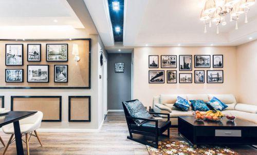 咖啡色空间设计 142平淡雅简欧