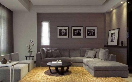 利用镜面空间 67平黑白二居设计