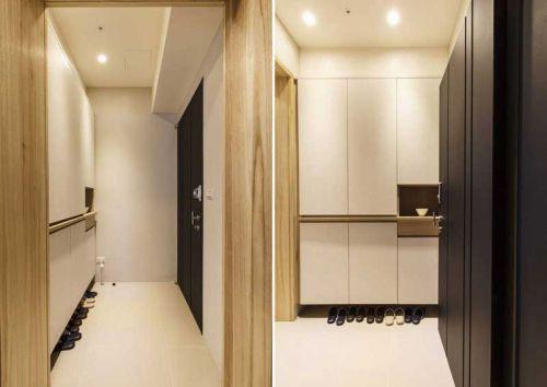 原木纹理 92平米现代质感二居