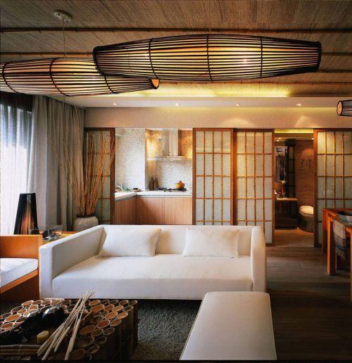 清新脱俗小公寓 70平新中式二居