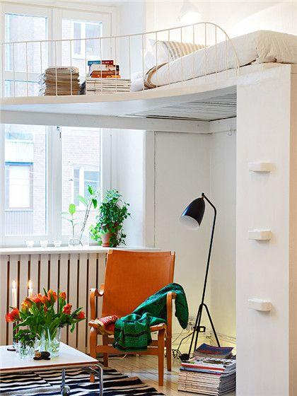11万装51平清新小户型 舒适收纳空间设计